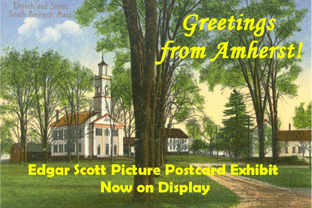 Greetings from Amherst!