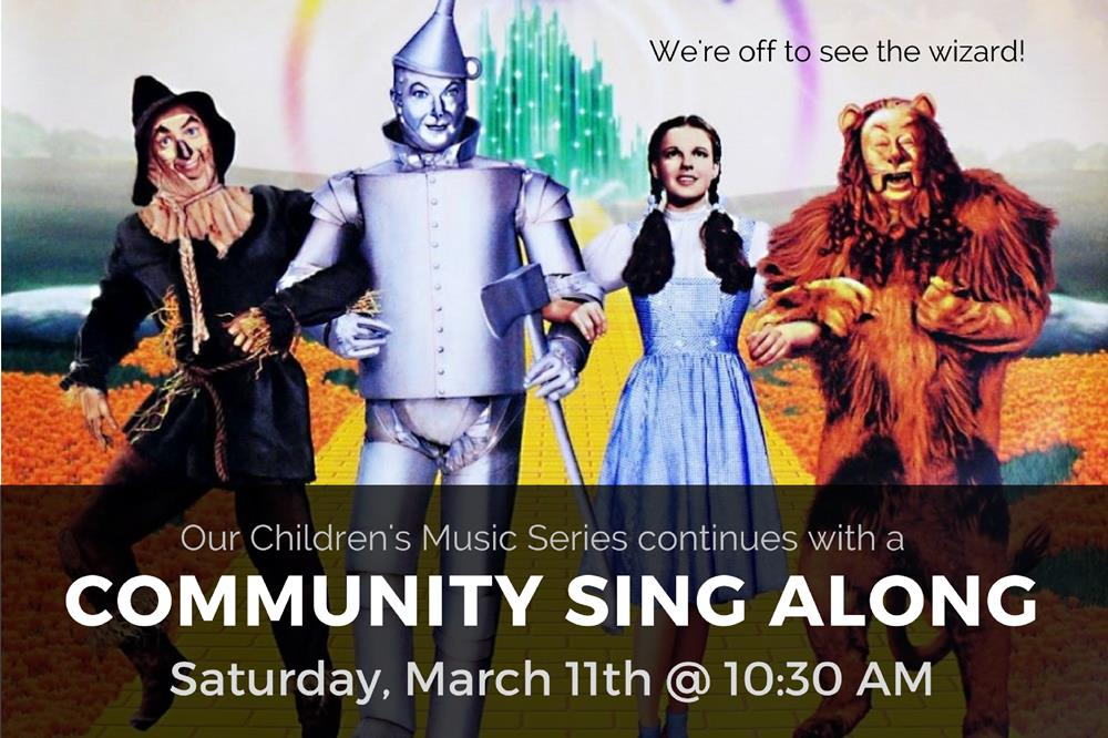 Childrens Music Series - Community Sing Along