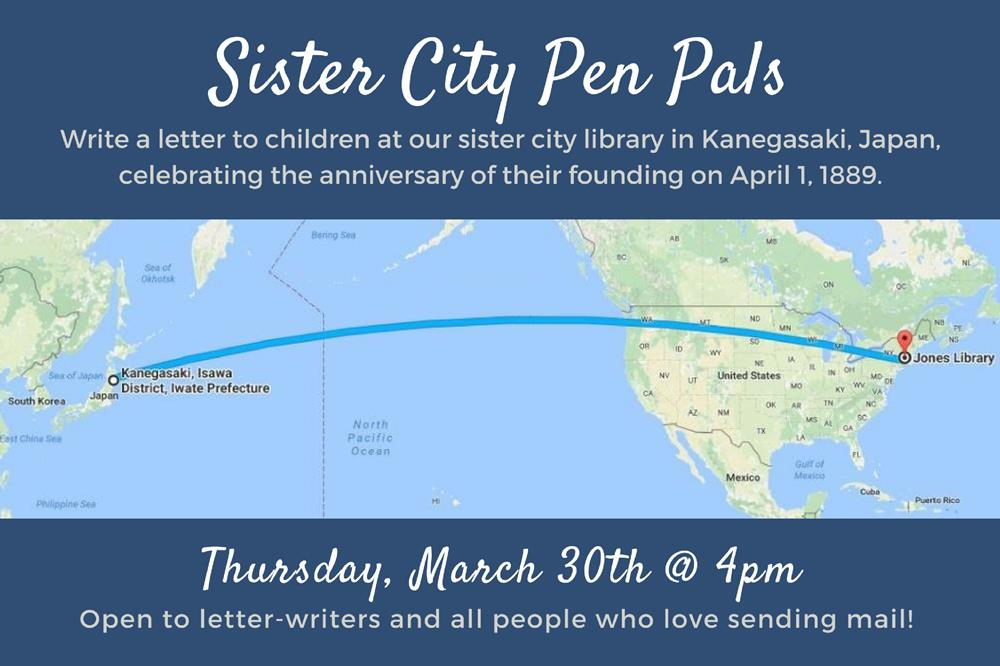 Sister City Pen Pals