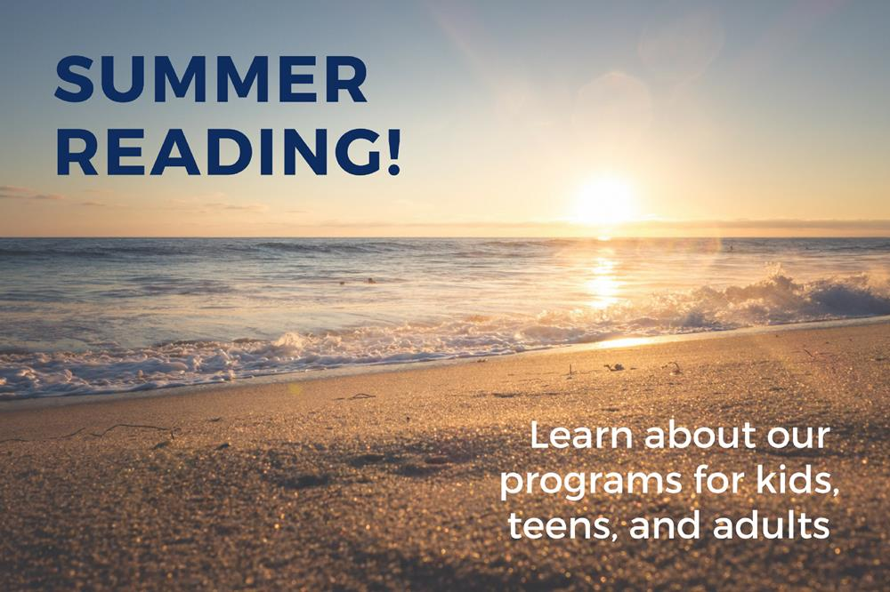 Summer Reading - General Announcement