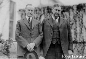 President Calvin Coolidge and Attorney General Harlan Fiske Stone