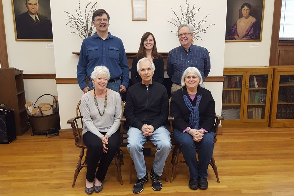 Trustees - 2017 - Goodwin Room at the Jones Library