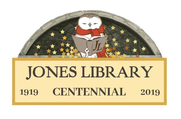 Jones Library Centennial Logo