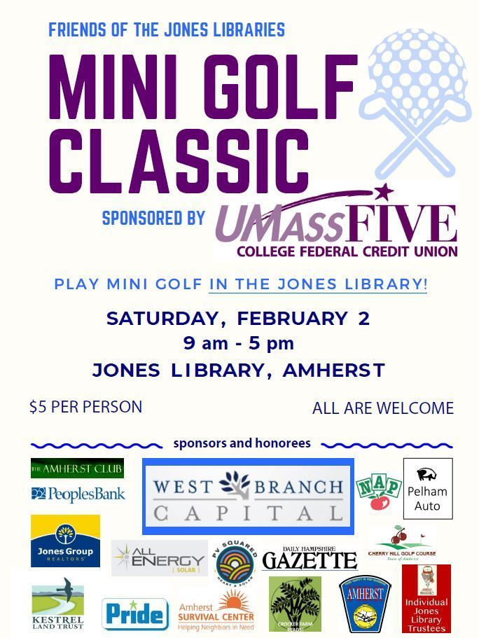 Mini Golf Classic 2019 - Friends of the Jones Libraries