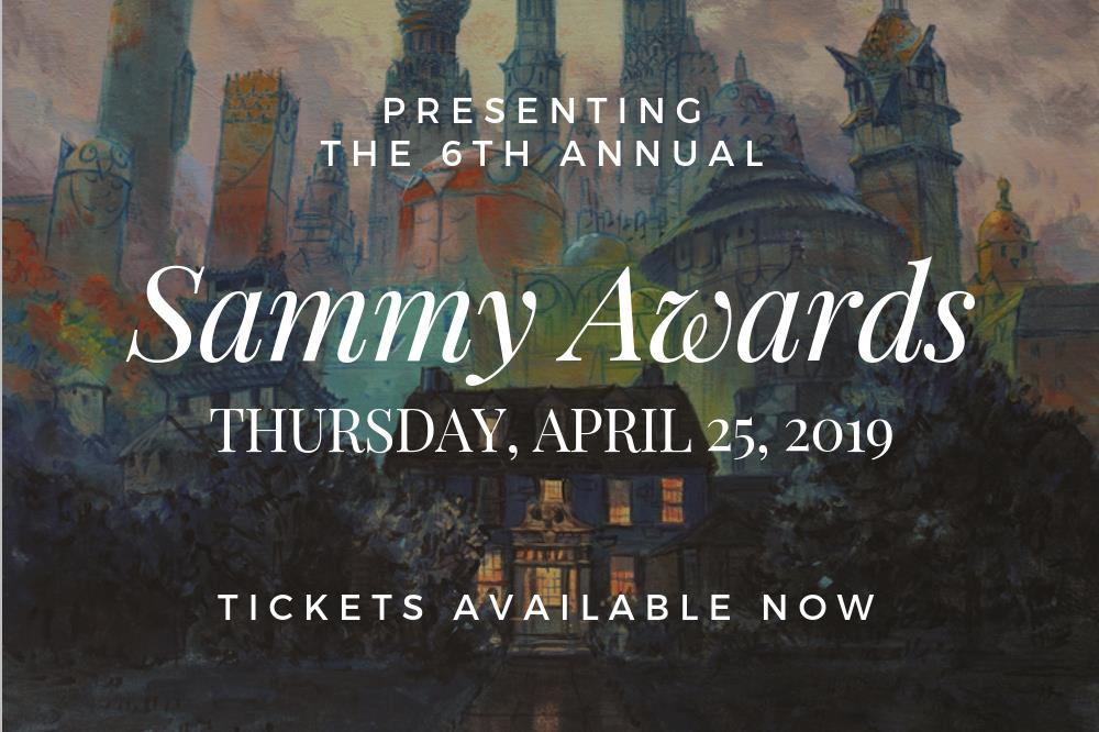 Sammy Awards 2019 - Tickets Available Now
