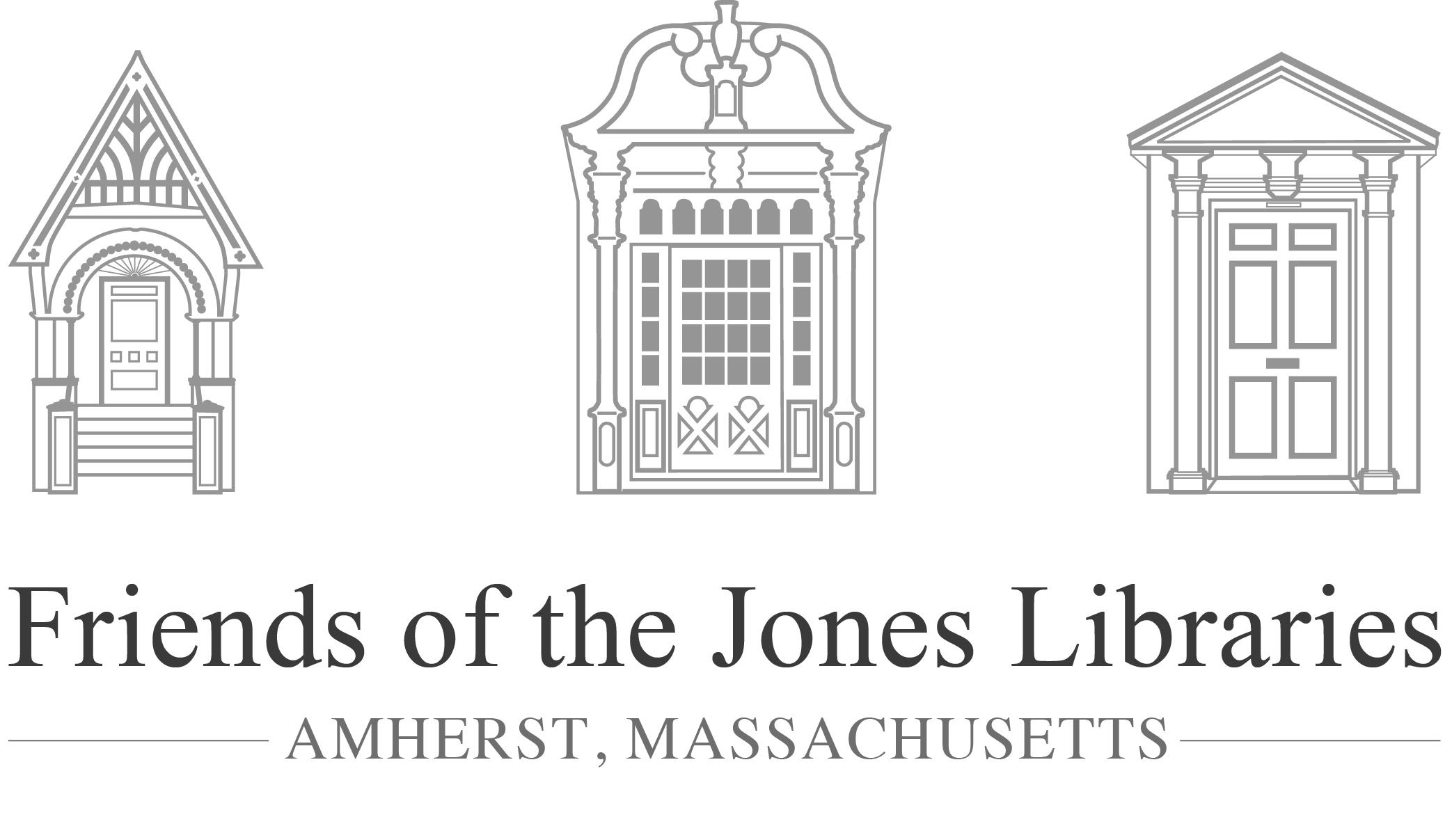 Friends of the Jones Libraries Logo