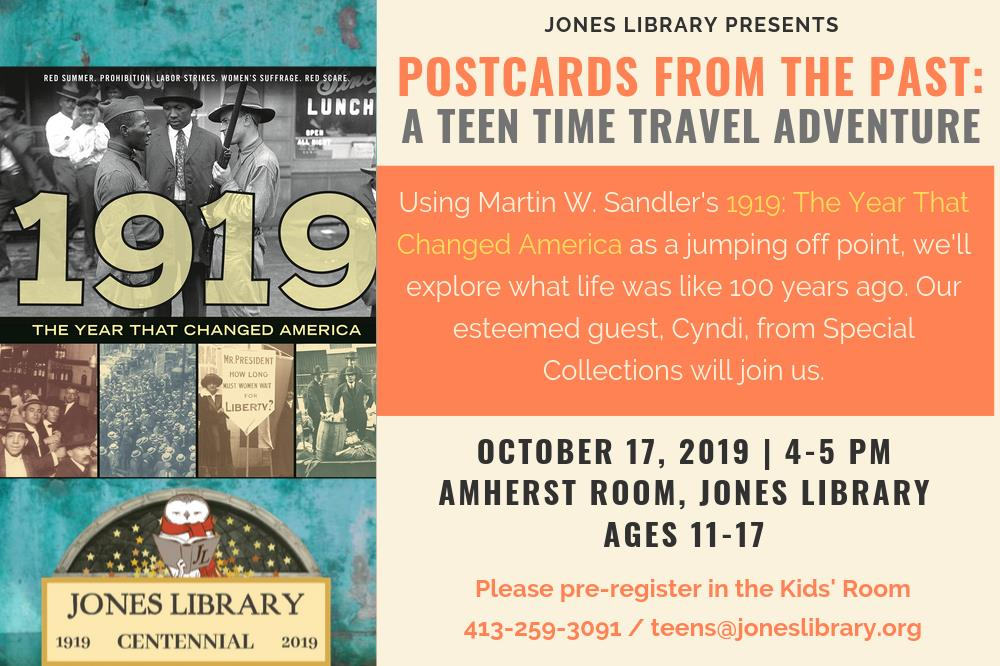 Postcards from the Past - A Teen Time Travel Adventure