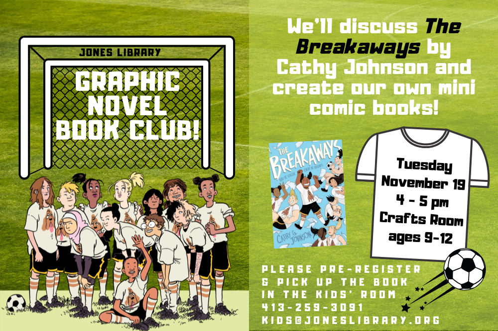 graphic novel book club breakaways nov 2019