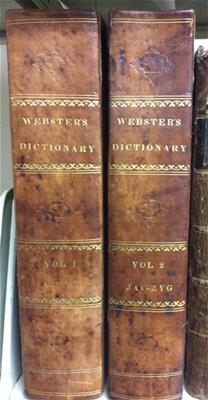 Noah Webster's 1828 Dictionary