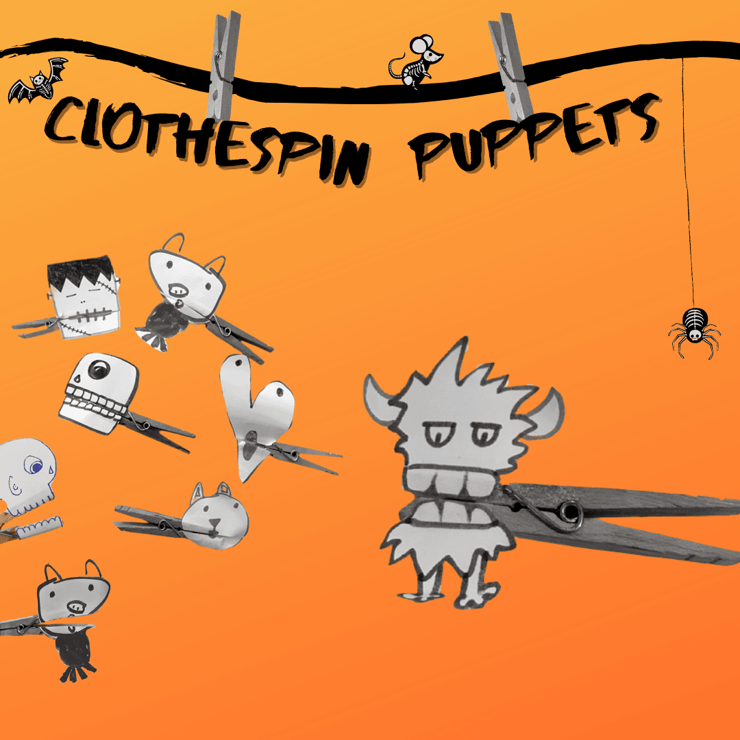 Art Prompt_Clothespin Puppets