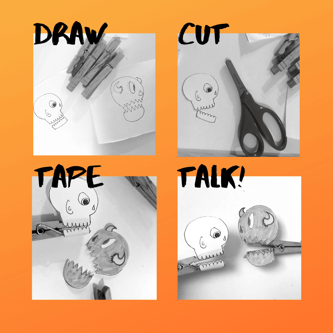 Art Prompt_Clothespin Puppets Complete