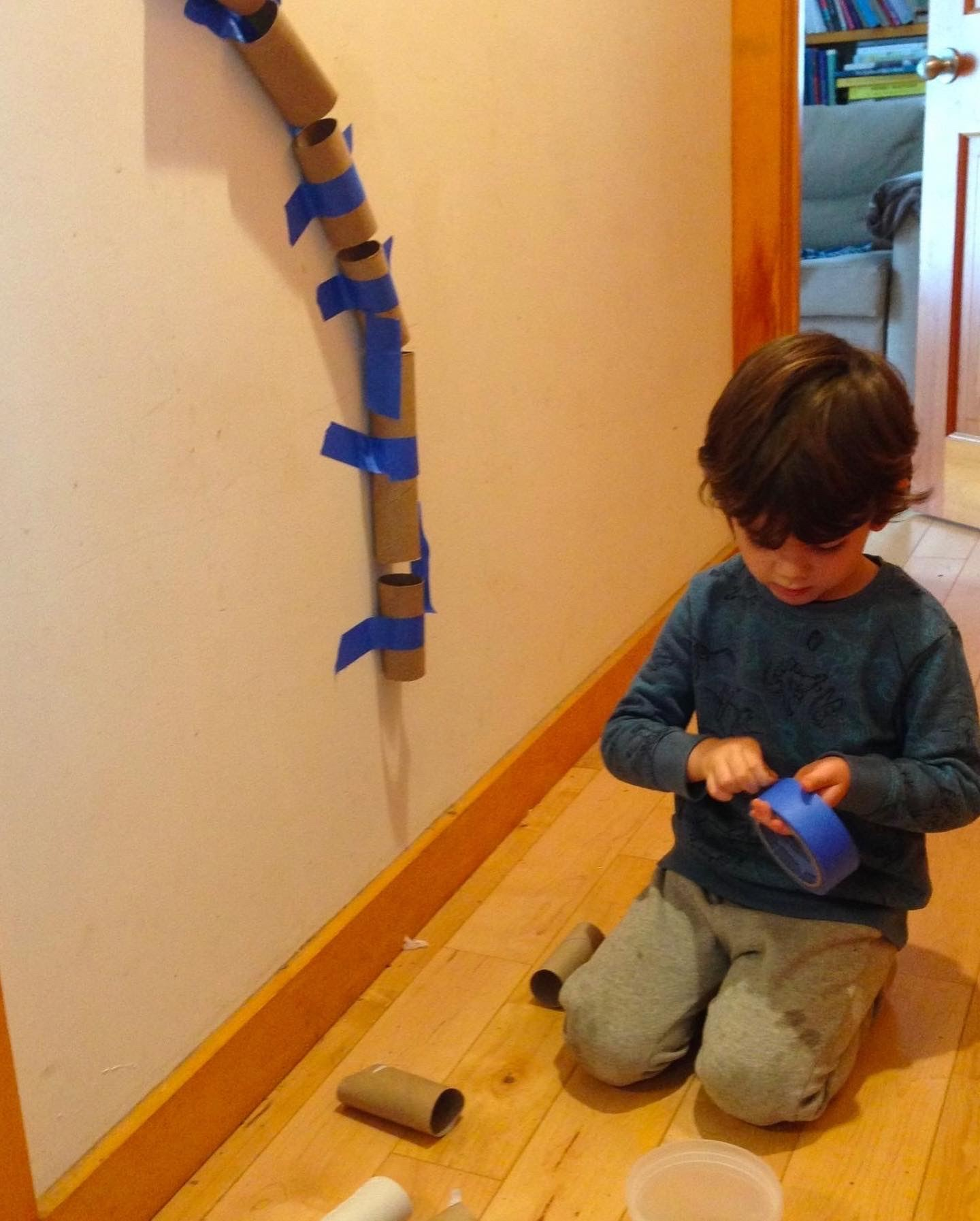 At Home Activity_Marble Run
