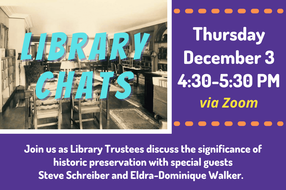 Library Chat - December 4, 2020