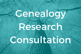 Genealogy Research Consultation