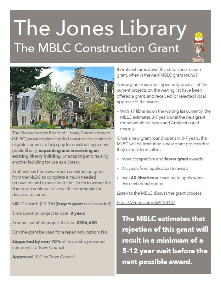 The MBLC Construction Grant Opens in new window
