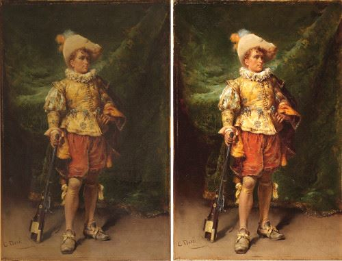 &#34On Guard&#34 before and after conservation treatment