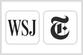 Unlimited access to the Wall Street Journal & the New York Times at our libraries!